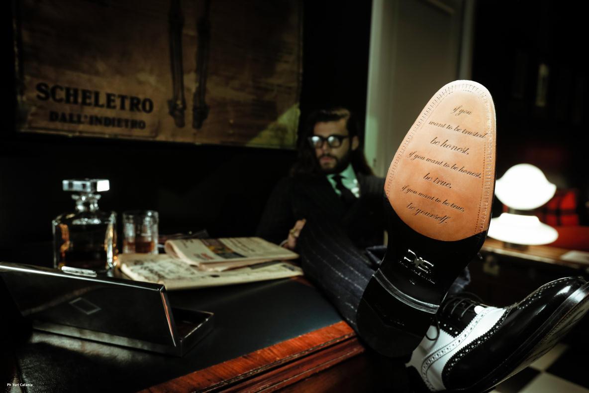 履き心地のよさそうなイタリア製の靴を自分好みにアレンジオーダー