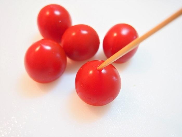 ミニトマトの皮の剥き方