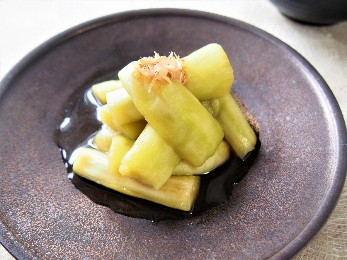 電子レンジで時短。残暑にさっぱり食べたい「茄子の翡翠煮」のレシピ