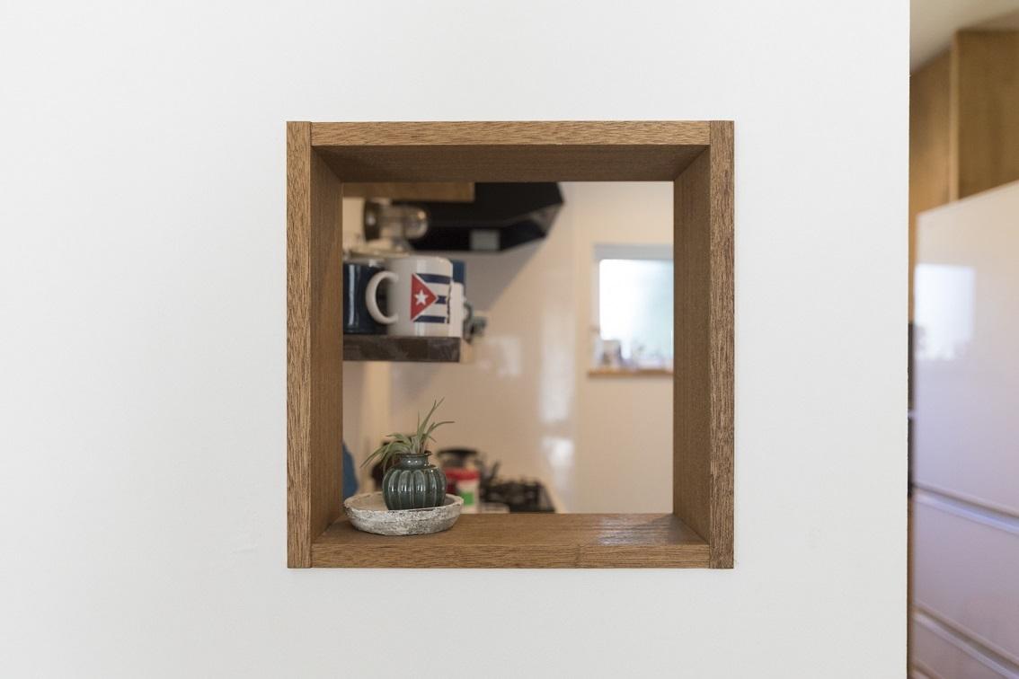 小窓がかわいい