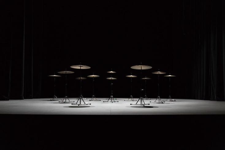 池田亮司×Eklekto『music for percussion』© Raphaëlle Mueller