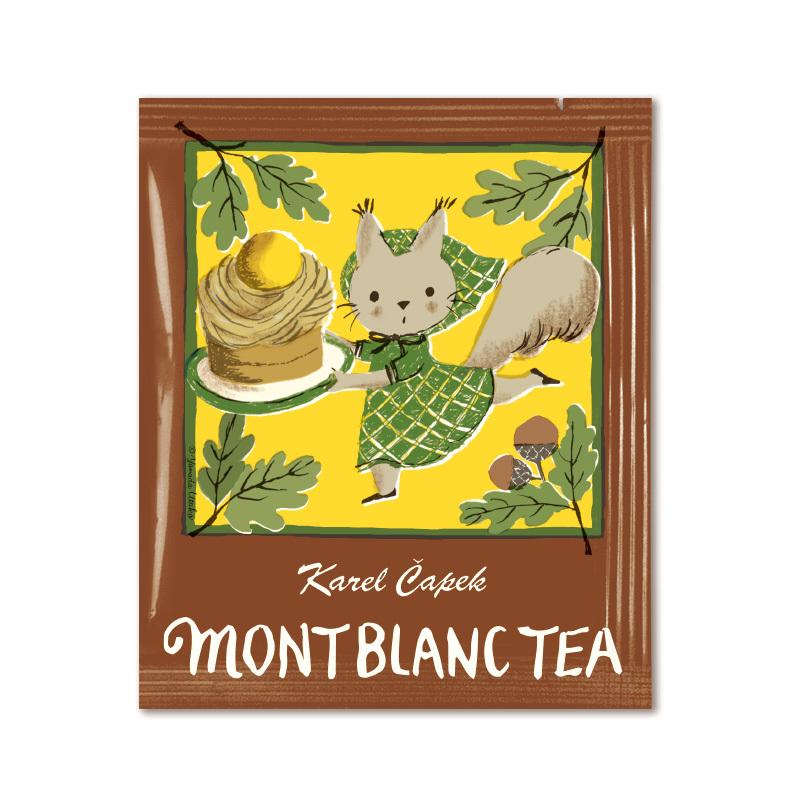 カレルチャペック紅茶店のモンブランティー