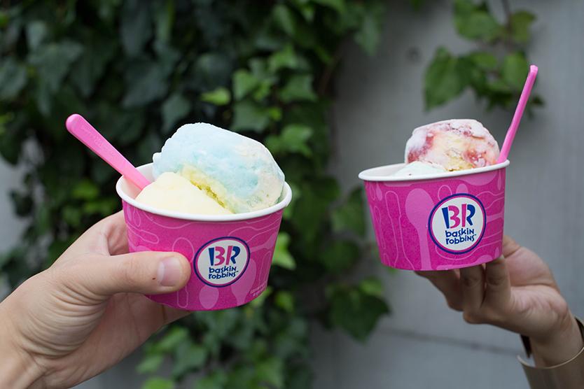 フォトジェニックなサーティワンアイスクリーム
