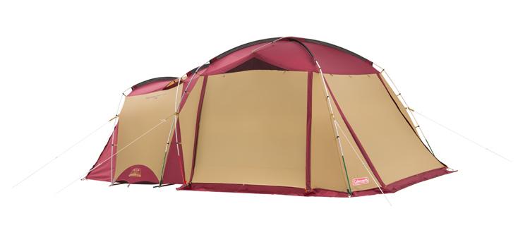 コールマンのテント、タフスクリーン2ルームハウス(バーガンディ)