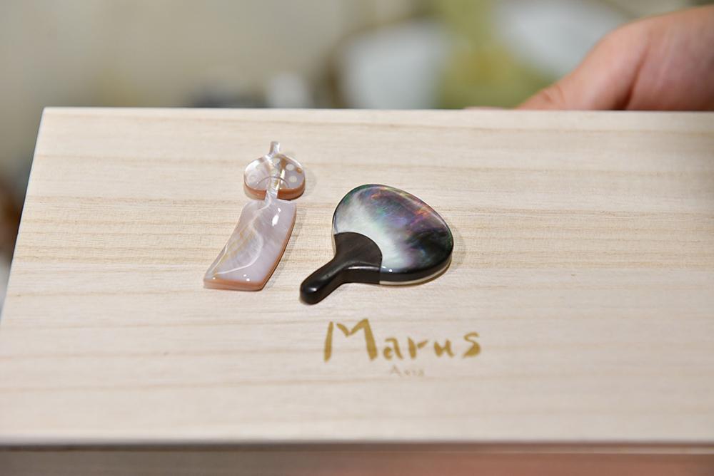 季節のデザインがかわいい、Marusの箸置き兼小皿