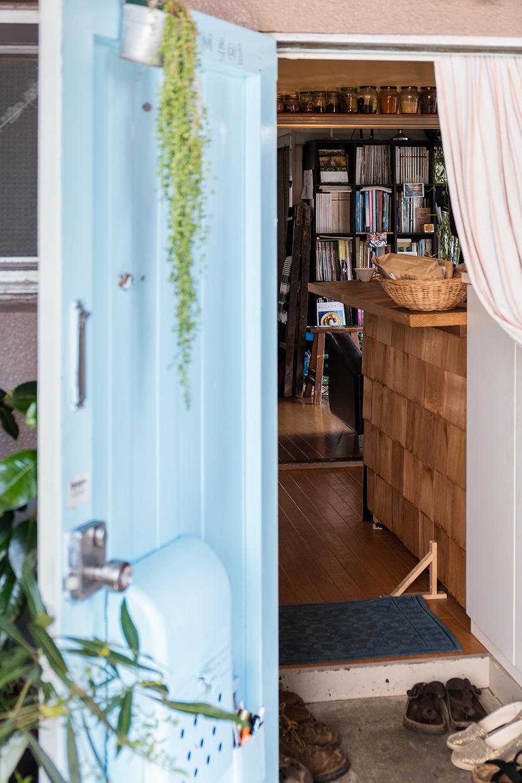 DIY可能なマンションのアートな扉