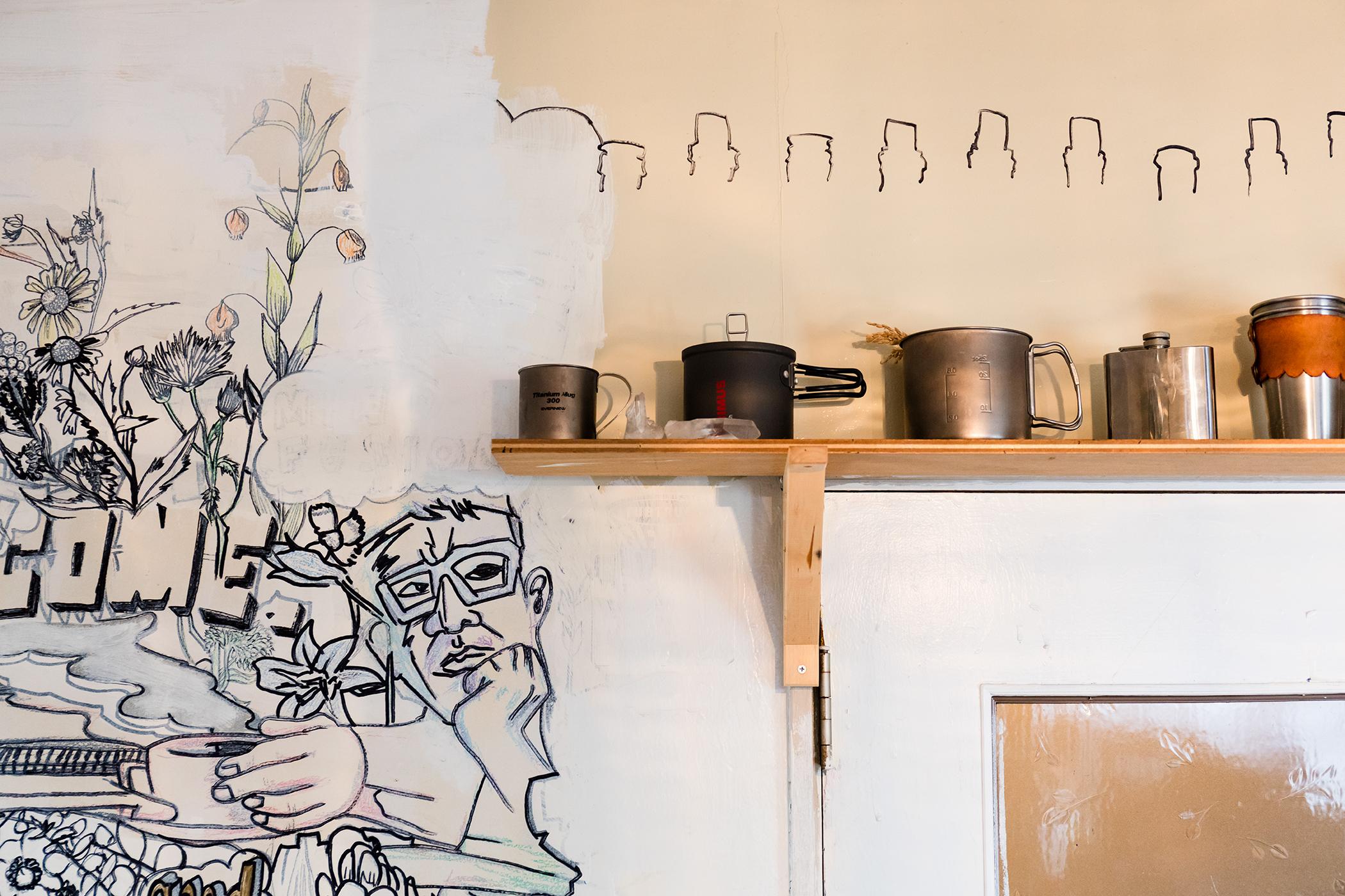 DIY可能なマンションのアートな部屋