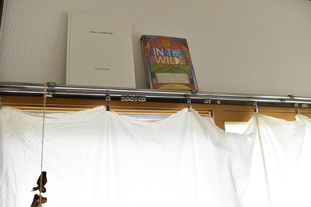 カーテンは布切れで作る