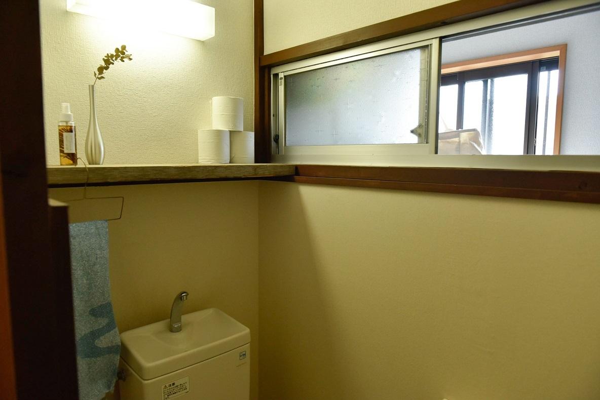 トイレ~洗濯機置き場にかけての謎なつくり