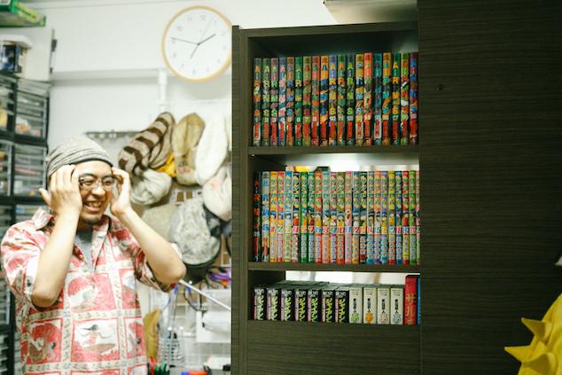 たくさんの本が収納できる本棚