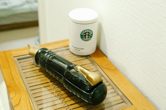ペン型のケース