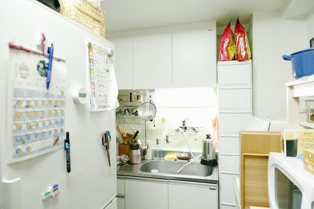 賃貸住宅のキッチン