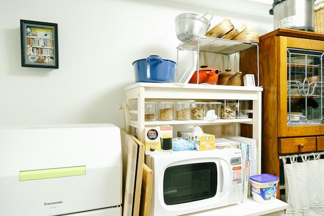 乾物のあるキッチン