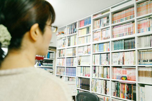 漫画家の漫画コレクション