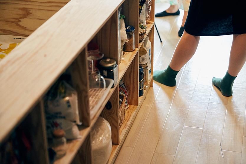 便利なキッチン収納をDIY
