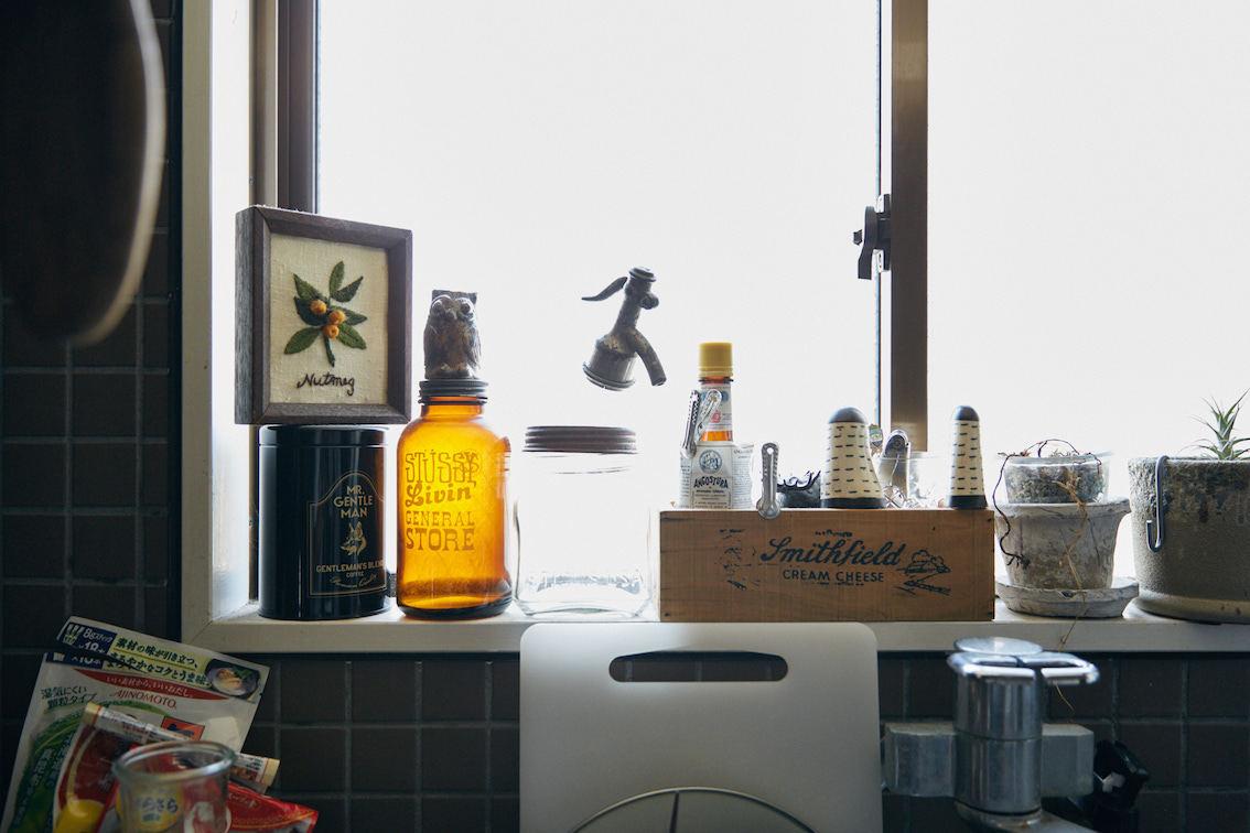 キッチンの装飾