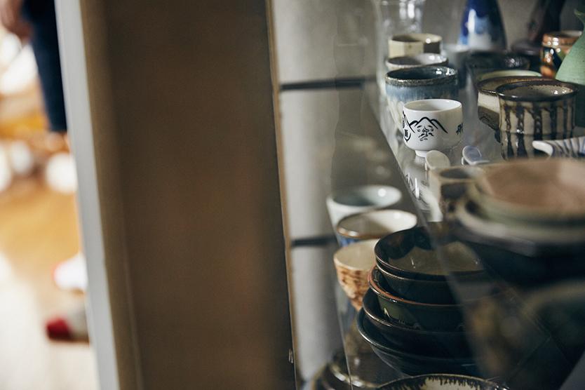 趣味で集めている和食器や工芸品の器