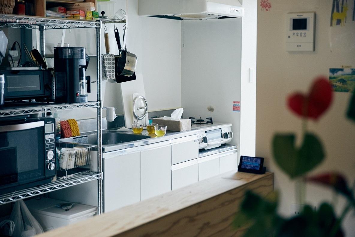 荻窪のワンルームマンションのキッチン