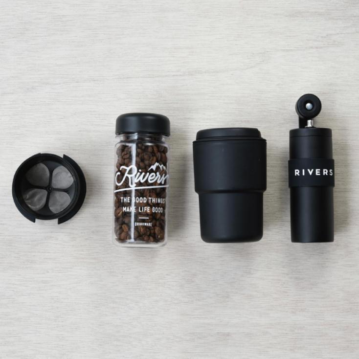 小型コーヒーグラインダー、グリット