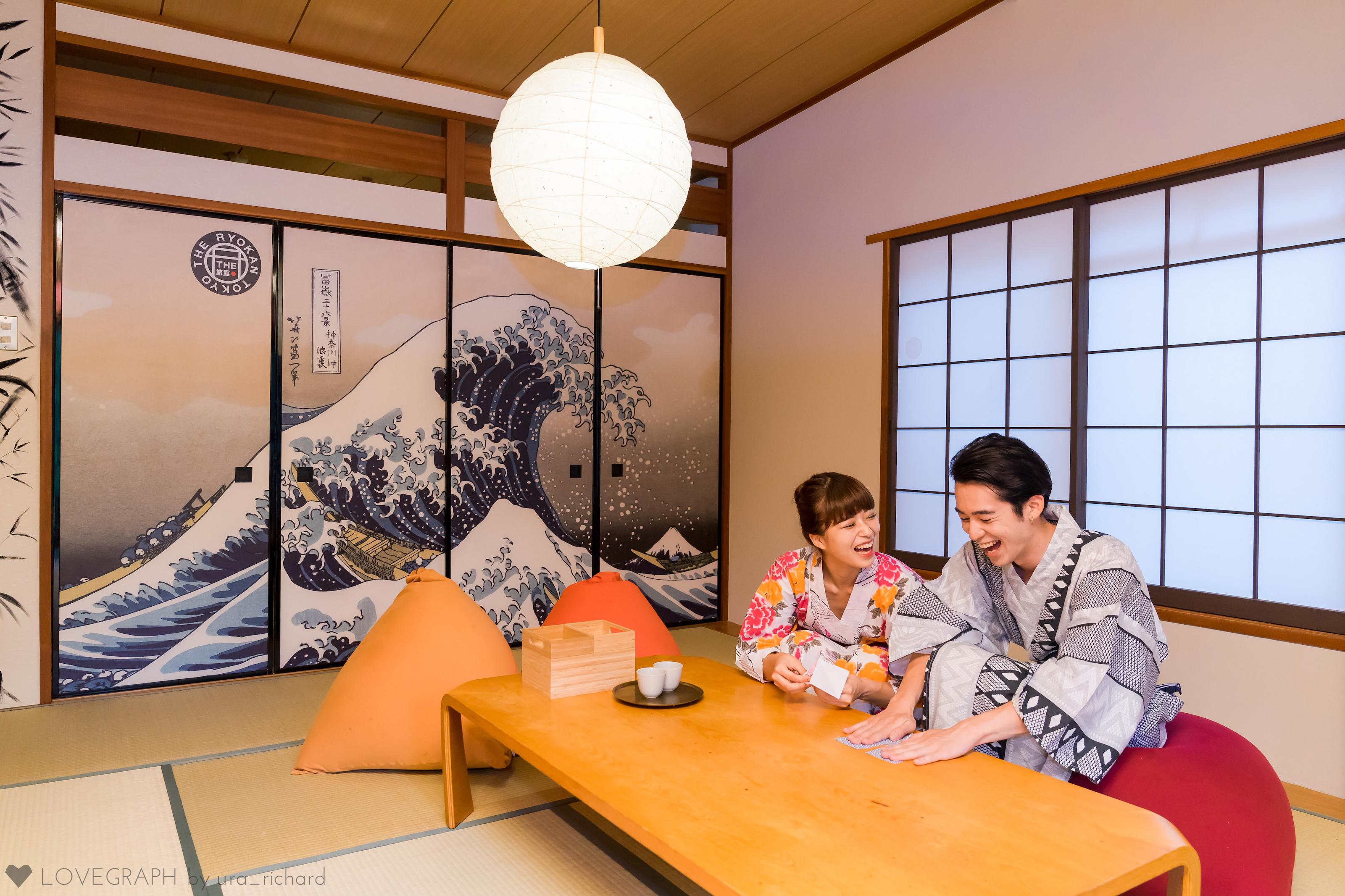 #私の好きな日本「旅館で過ごす週末」 ※The Ryokan Tokyoの和室 撮影協力:Lovegraph