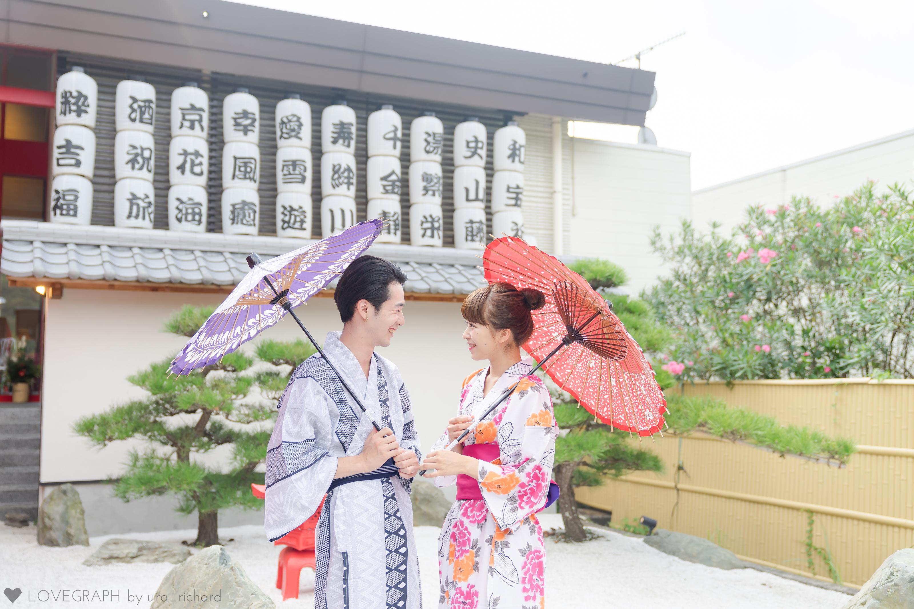 #私の好きな日本「浴衣でお出かけ」 The Ryokan Tokyo入り口 撮影協力:Lovegraph