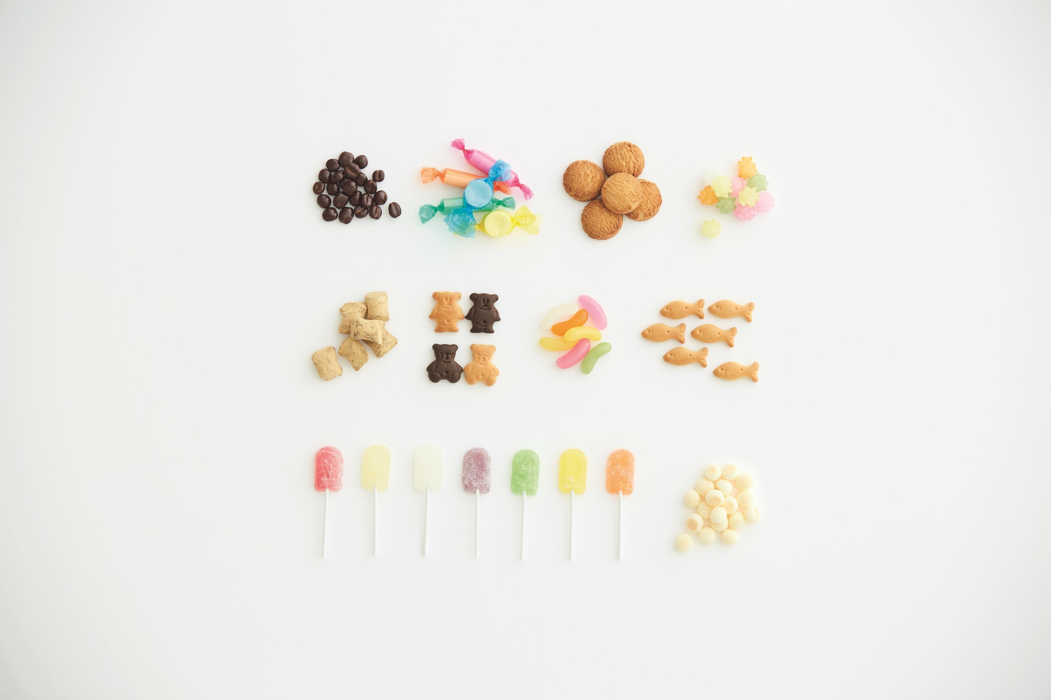 無印良品の「ぽち菓子」シリーズ