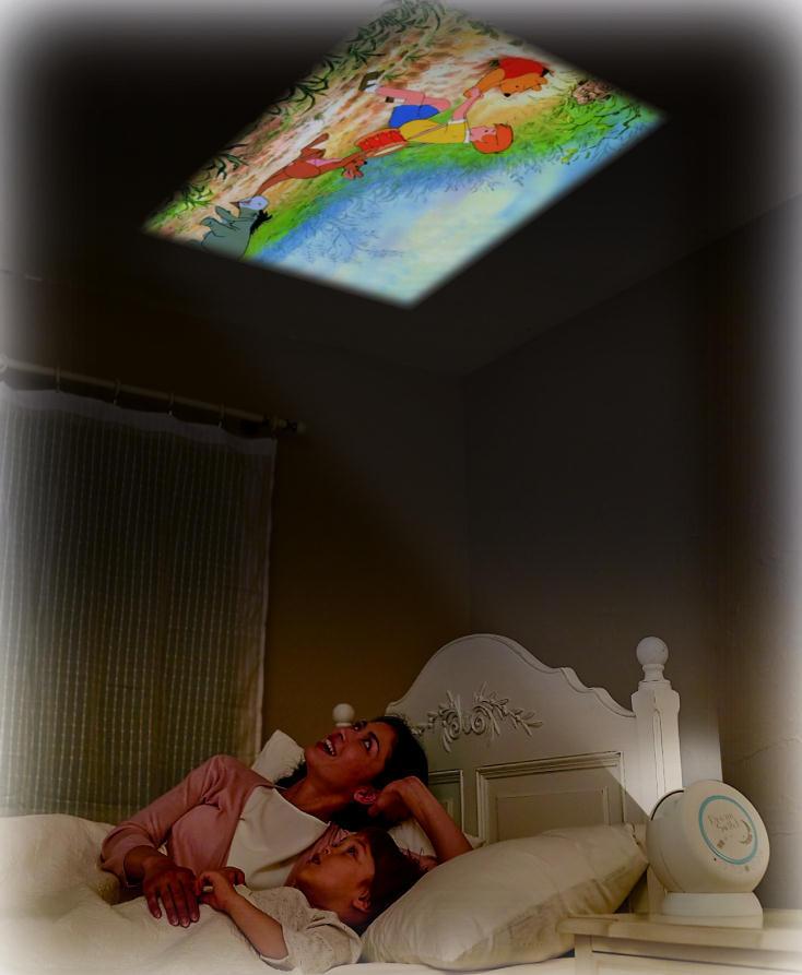セガトイズの動く絵本プロジェクター「Dream Switch」