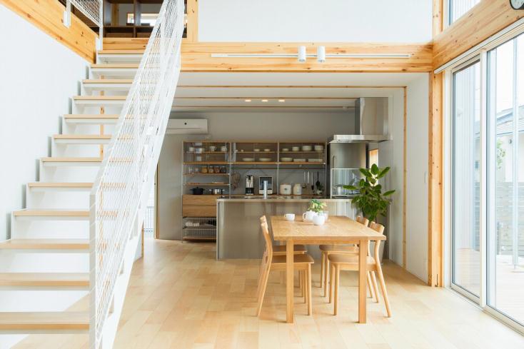 無印良品の「木の家」山口店モデルハウス