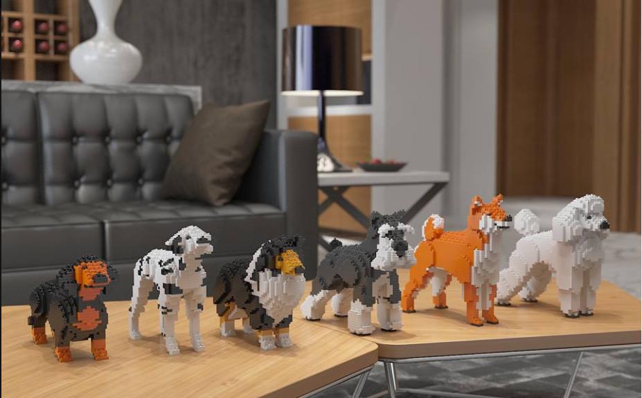 「JEKCA」の動物シリーズが魅惑的