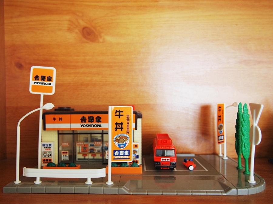 吉野家の模型