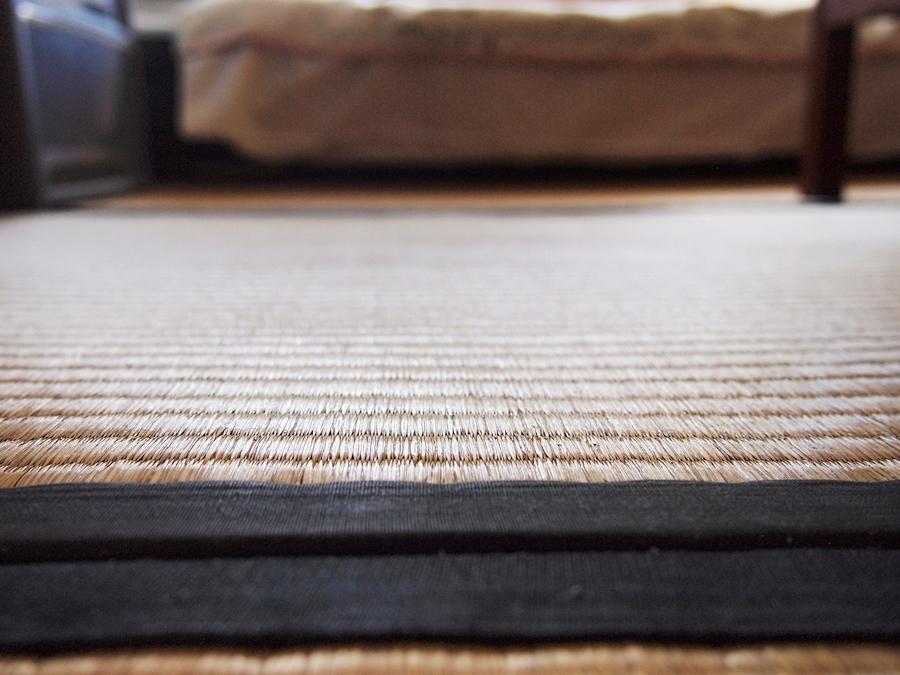 畳が敷き詰められたスペース