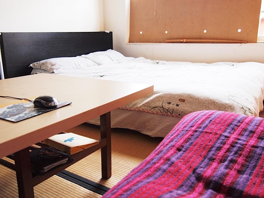 イギリス、ロンドンのベッドルーム