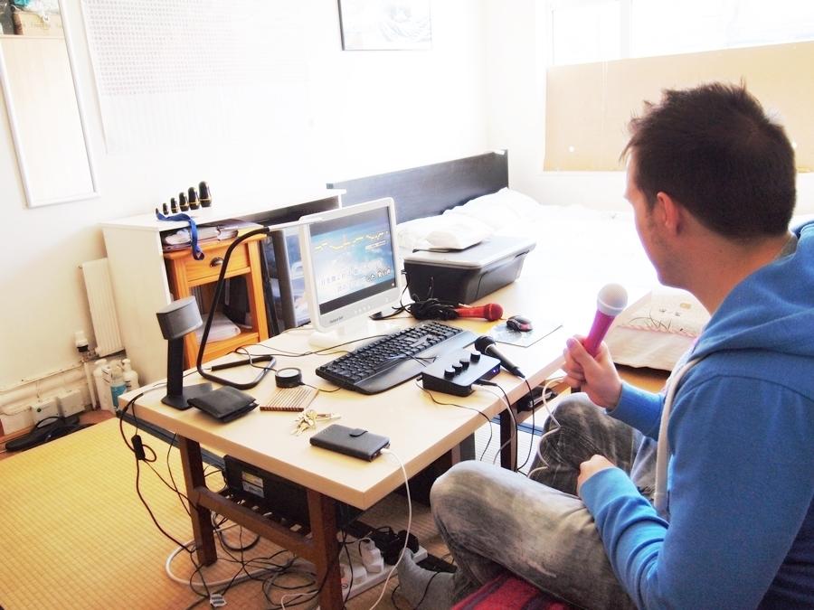 畳、カラオケ、吉野家の模型。日本愛あふれる弁護士の部屋(イギリス・ロンドン)|みんなの部屋