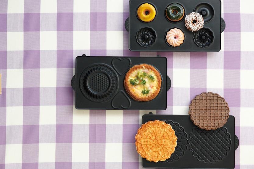 日本の調理家電ブランドVitantonioの『ワッフルベーカー』を紹介