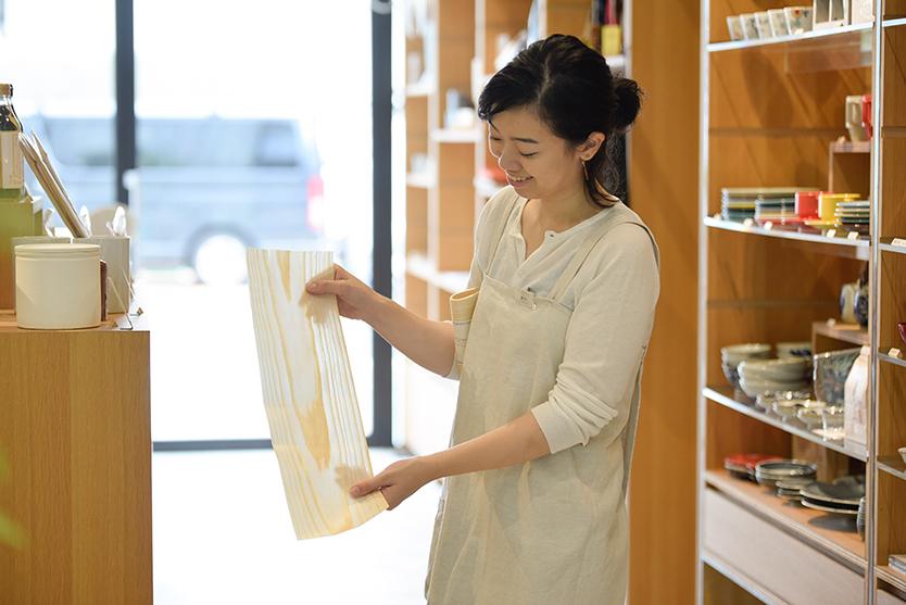 中川政七商店の経木