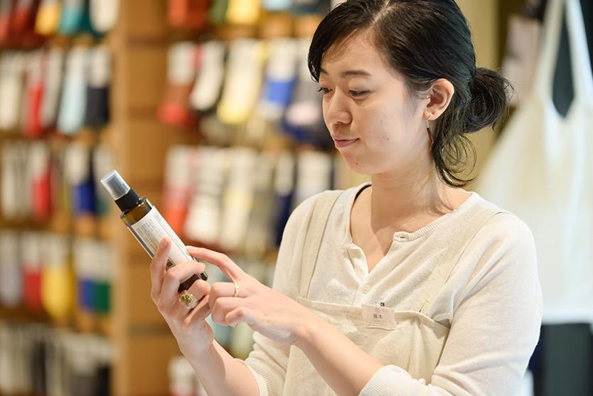 中川政七商店オリジナルの虫除けスプレーアウトドアボディスプレーは便利