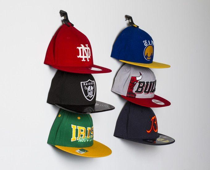 キャップ収納アイテム「Caiman Hat Clips」