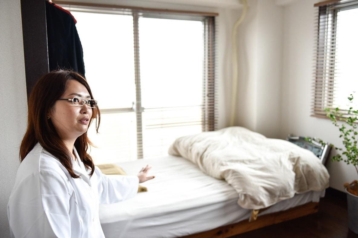 「ベッドルーム」には入眠作用が高い香りを