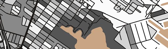 アートでおしゃれなModern Map Art Prints