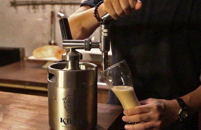 ニトロコールドブリューコーヒーが作れるマシン