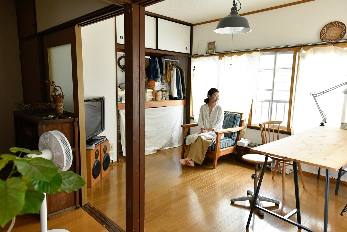 生活雑貨屋の店主が暮らす、店舗付き2階建てアパート(埼玉県北本市)