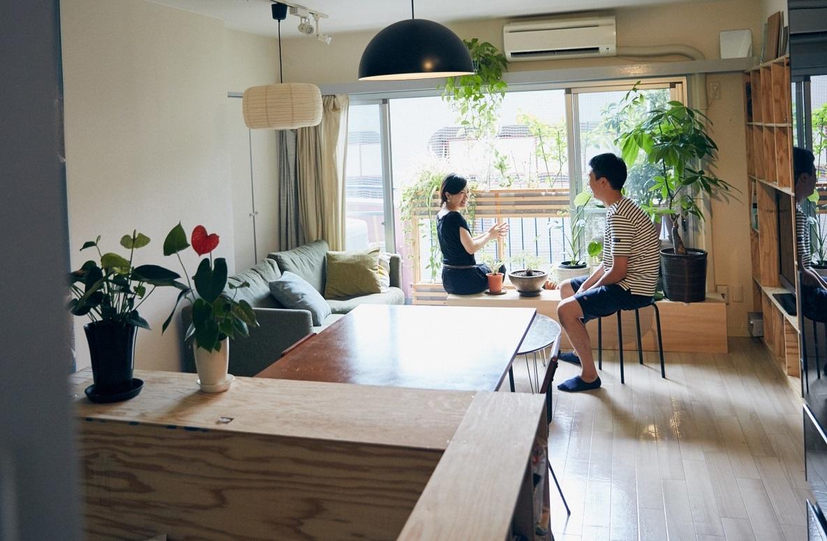 ワンルームDIYが参考になる。暮らしを手作りで組み立てる建築家夫妻(荻窪)|みんなの部屋