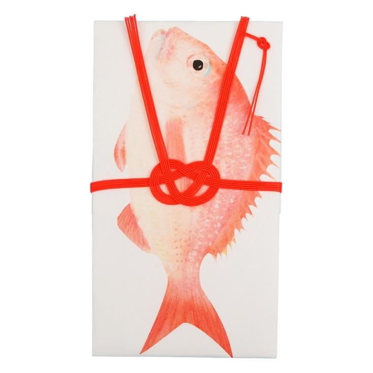 鯛柄のご祝儀袋