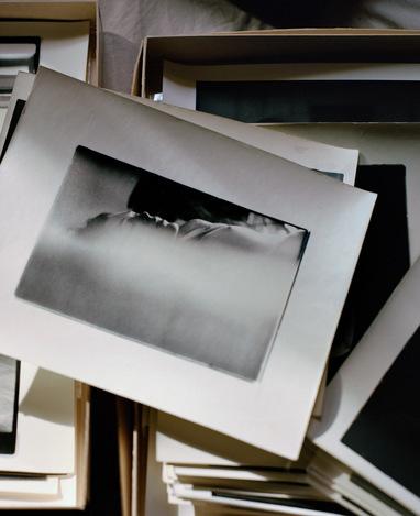 フランス人建築写真家フランソワ・アラールの故ソール・ライターの写真