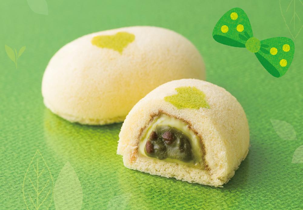 東京ばな奈ワールドに16年ぶりとなる和テイストの新作『銀座のお抹茶ケーキ』登