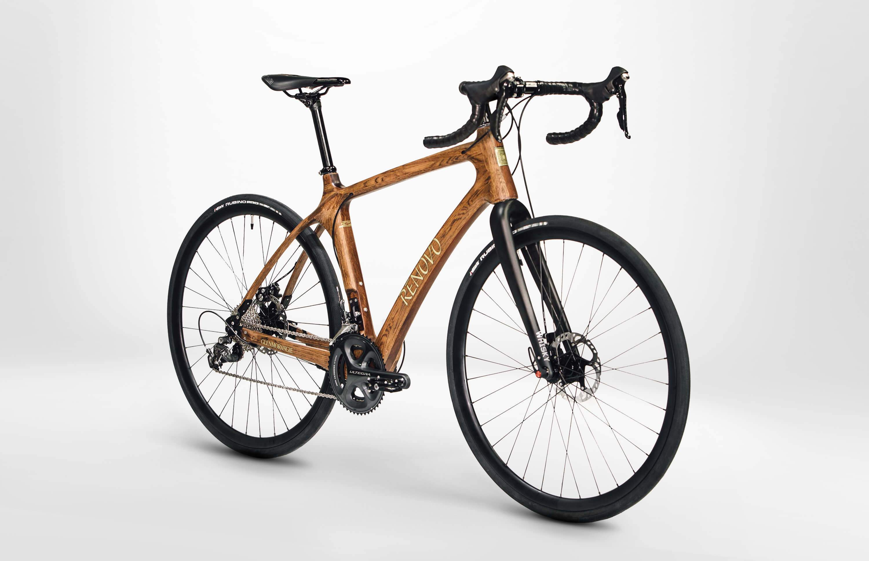 「ウィスキー樽」製フレームのおしゃれな自転車Glenmorangie Original