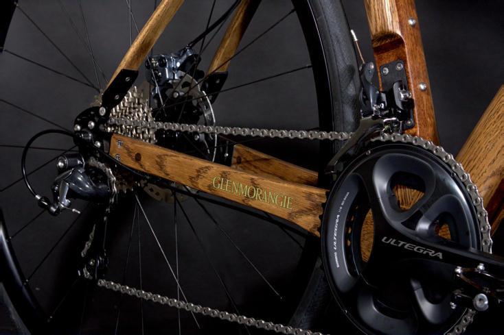 「ウィスキー樽」製フレームのかっこいい自転車Glenmorangie Original