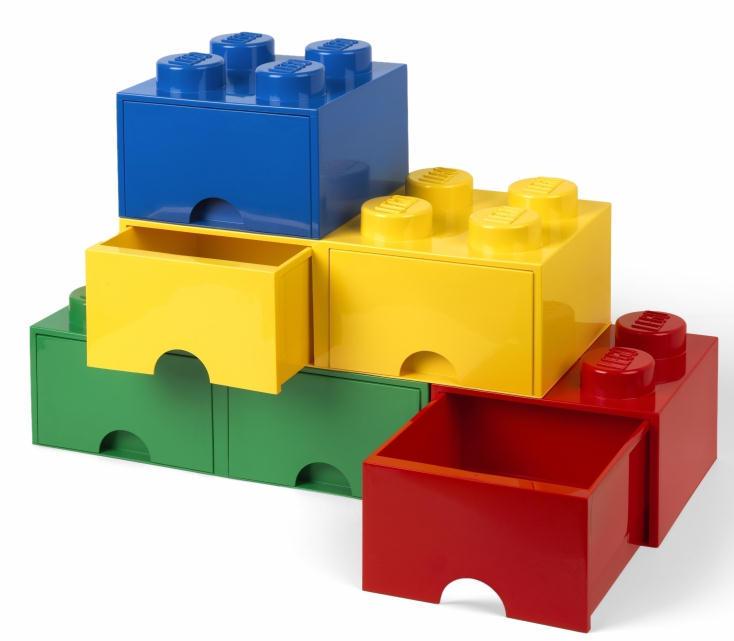 かわいい収納レゴブロック型のストレージ