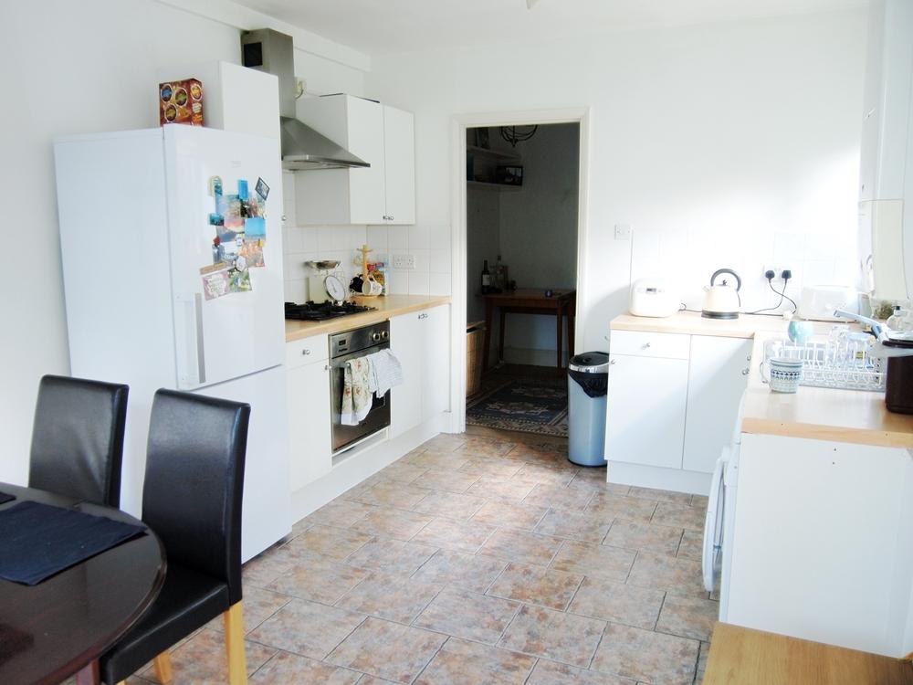 ロンドンの広々したキッチン付きアパート