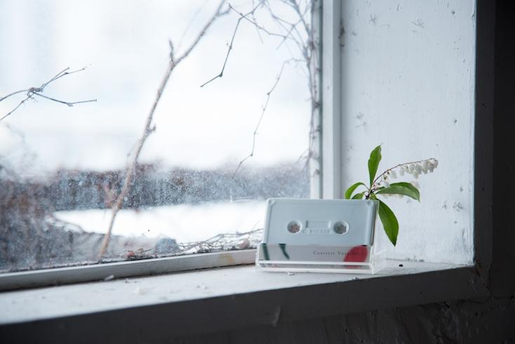 「cassette vase」は、生活をより豊かにする限定生産された一輪挿し